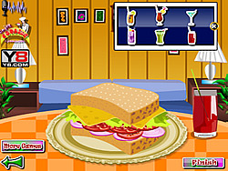 Delicious Turkey Sandwich game