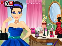 Prom Princess Make over game
