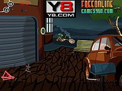 Car Garage Room Escape Game game