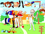 Play Costume dress up Game