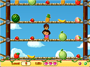 Dora Pick Fruits game