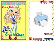 Cutie Magazine Makeover game
