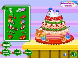 Frozen Christmas Cake game