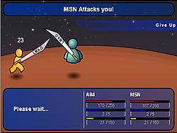 AIM vs MSN game