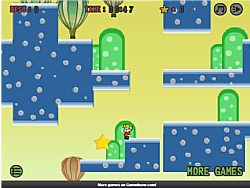 Retro Platformer game