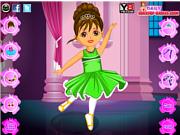 Juega al juego gratis Dora Ballet Dress Up Game