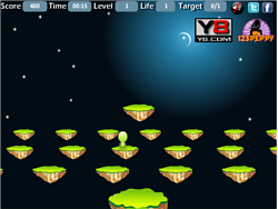 Alien Jumping game