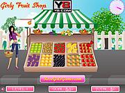 Girly Fruit Shop game