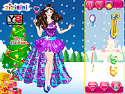 Christmas Princess Dress Up game