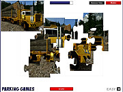 Play Extreme trucker jigsaw Game Online