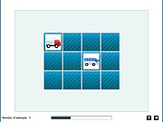 Play Super vehicles memory Game