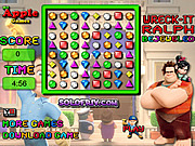 Play Bejeweled wreck-it ralph Game Online