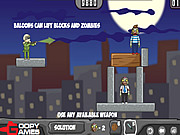 Play Balloons vs zombies Game Online
