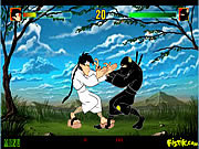 Play Karate kamil vs ninja nejat Game