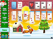Santa Solitaire game
