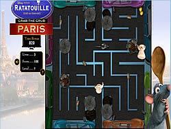 Gioca gratuitamente a Ratatouille Grab the Grub