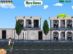 Segway Ben Ten game