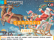 Christmas Word Scramble game