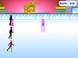 DM Ice Skating Competition game