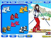 Dress Up Ski Girl game