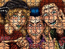 Edd Eddy Ed Puzzle game