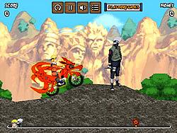 Permainan Naruto Bike Mission