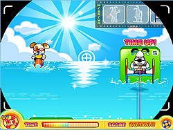 Puppy Water Skiing game
