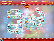Play free game Free Santa Mahjong