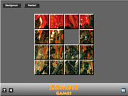 Play Zombie game sliding Game