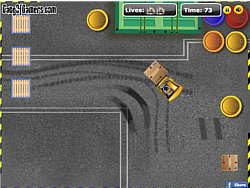 Forklift Parking game