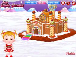 Baby Hazel Gingerbread House game