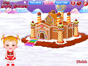 Play Baby Hazel Gingerbread House game online - Y8.COM
