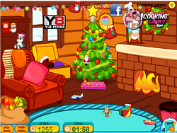 Clean Up For Santa Claus game