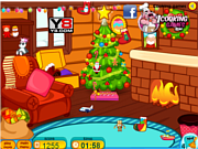 Play Clean up for santa claus Game