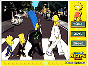 Play The simpsons hidden stars Game