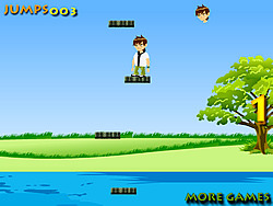 Ben Ten Jumping game