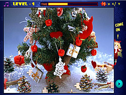 Merry Christmas Magic Jigsaw game