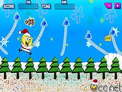 Swinging SpongeBob Xmas game