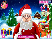 Play Santa s real haircuts Game