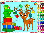Play Christmas tale - rossy coloring games Game