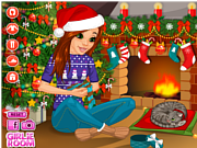 Play Christmas romance Game