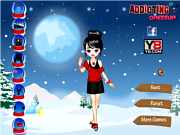 Fashion Winter Dress Up' game