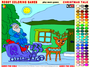 Play Christmas coloring 2 Game