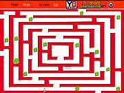 Santa Claus Maze game