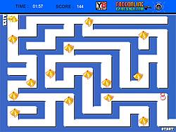 Snowman Maze game