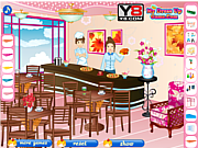 Play Restaurant decorating game Game