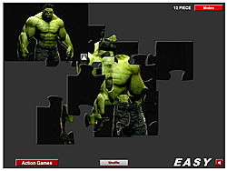 jeu Green Hulk Jigsaw