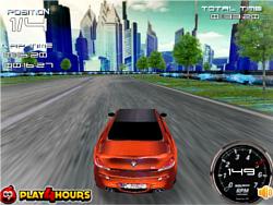 Virtual Rush 3D game