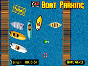 Play 21 century boat parking Game