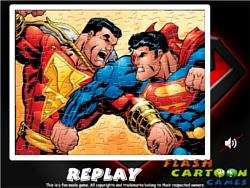 Superman Sort My Jigsaw game